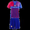 Kép 1/5 - FC Barcelona 21-22 gyerek mez szerelés, hazai, replika - 10 éves