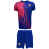Kép 1/6 - FC Barcelona gyerek címeres edző szerelés - 10 éves