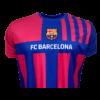 Kép 2/5 - FC Barcelona 21-22 gyerek hazai szurkolói mez, replika - 8 éves