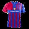 Kép 2/7 - FC Barcelona 21-22 hazai szurkolói mez, replika - Memphis - L