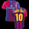 Kép 1/7 - FC Barcelona 21-22 hazai szurkolói mez, replika - Ansu Fati - L