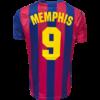 Kép 3/7 - FC Barcelona 21-22 hazai szurkolói mez, replika - Memphis - L