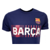 Kép 2/5 - A Barça címeres, 2021-22-es gyerek pólója, kék - 10 éves