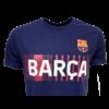 Kép 2/5 - A Barça címeres, 2021-22-es pólója, Kék - M