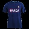 Kép 1/5 - A Barça címeres, 2021-22-es gyerek pólója, kék - 10 éves