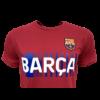 Kép 2/5 - A Barça címeres, 2021-22-es pólója, Gránátvörös - XL
