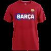 Kép 1/5 - A Barça címeres, 2021-22-es pólója, Gránátvörös - XL