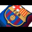 A Barcelona gránátvörös-kék díszpárnája