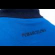 A Camp Nou királykék galléros pólója - M