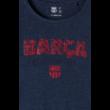 A Barça mozaikos női pólója - S