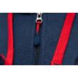 Női Barçás kapucnis pulóvered - L
