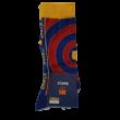 A Barcelona premium gránátvörös-kék zoknija - 43-46