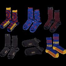 A Barcelona 3 db-os kívánság zokni csomagja