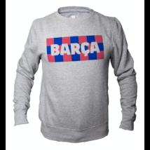 A kockás Barçás pulóvered