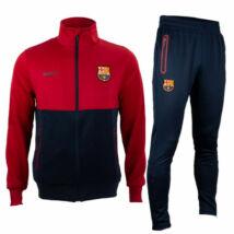 A Barça gránátvörös és kék melegítő szettje - M