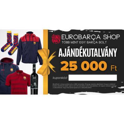 25.000 Ft-os ajándékutalvány