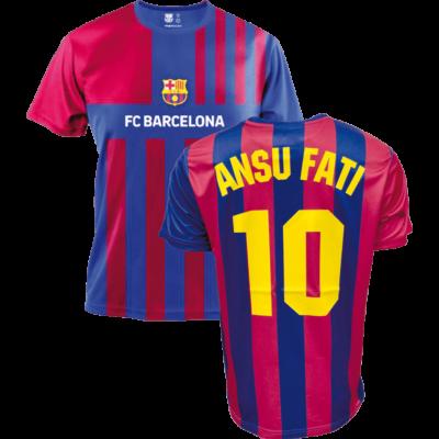FC Barcelona 21-22 hazai szurkolói mez, replika - Ansu Fati