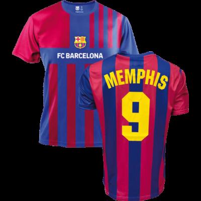 FC Barcelona 21-22 hazai szurkolói mez, replika - Memphis