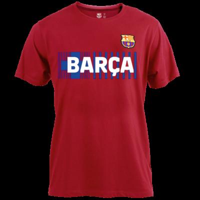 A Barça címeres, 2021-22-es pólója - Gránátvörös