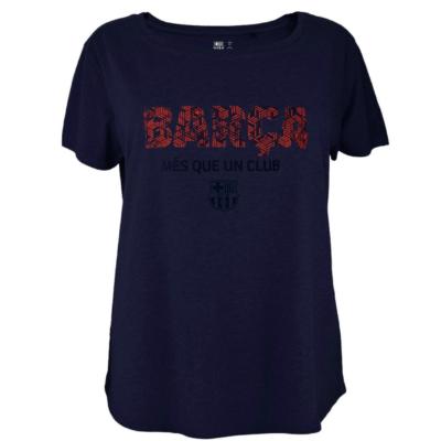 A Barça mozaikos női pólója