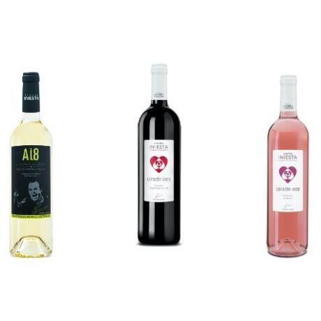Iniesta: 3-as válogatás boros csomag