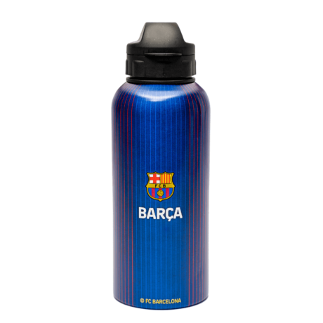 A gránátvörös-kék Barcelona fém kulacsod