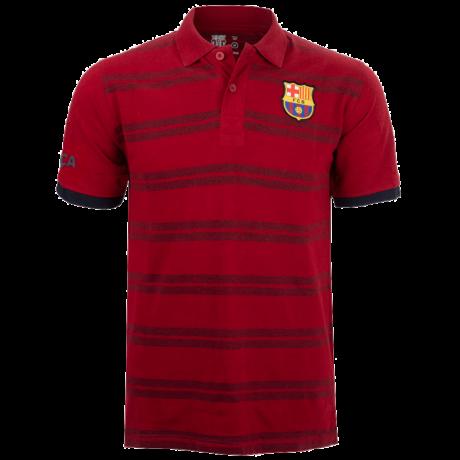 A Barcelona gránátvörös galléros pólója - M