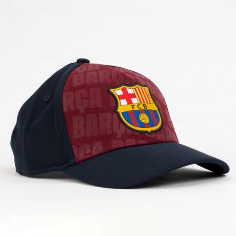 A Barça gránátvörös-kék gyerek sapkája
