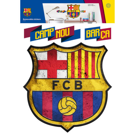 Barcelona óriás címer falmatrica
