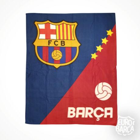 FC Barcelona polár takaró - piros