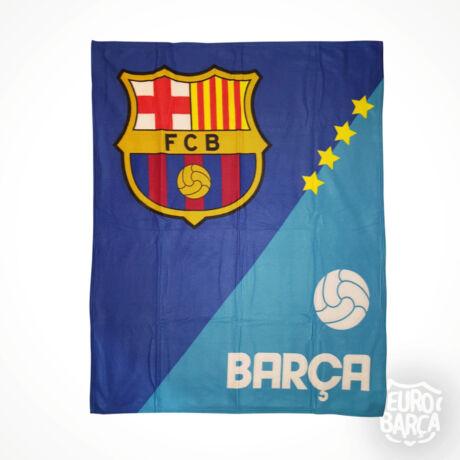 FC Barcelona polár takaró - kék