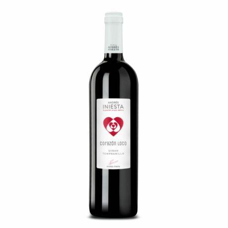 Iniesta: Corazón Loco Tinto vörösbor  - 2018