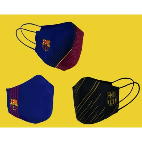 A Barça hivatalos maszk csomagja (3 maszk 1 csomagban)