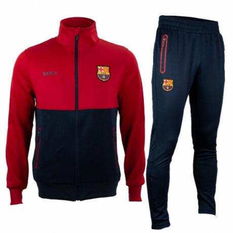 A Barça gránátvörös és kék melegítő szettje - L
