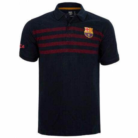 A Barça hivatalos galléros pólója - S