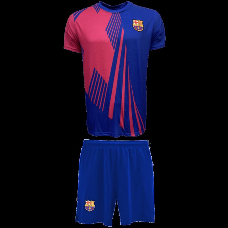 FC Barcelona gyerek címeres edző szerelés - 10 éves