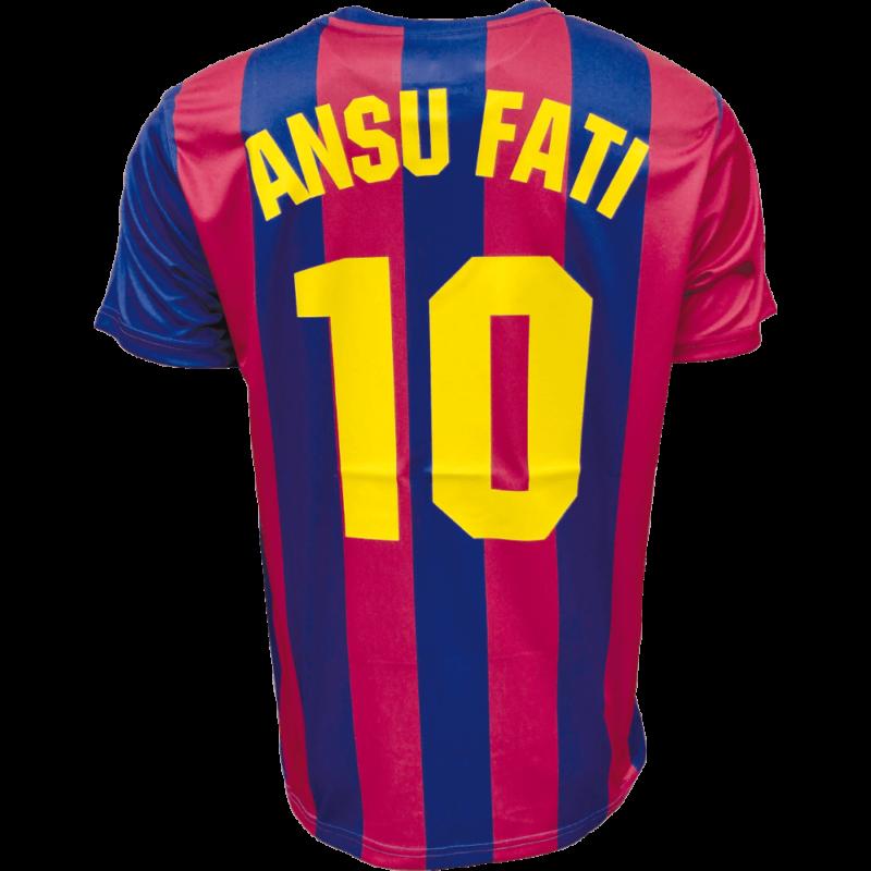 FC Barcelona 21-22 hazai szurkolói mez, replika - Ansu Fati - L