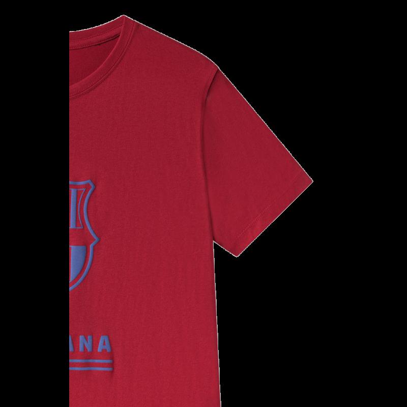 A Barça címeres, blaugrana pólója - L