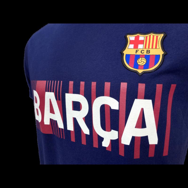 A Barça címeres, 2021-22-es gyerek pólója, kék - 10 éves