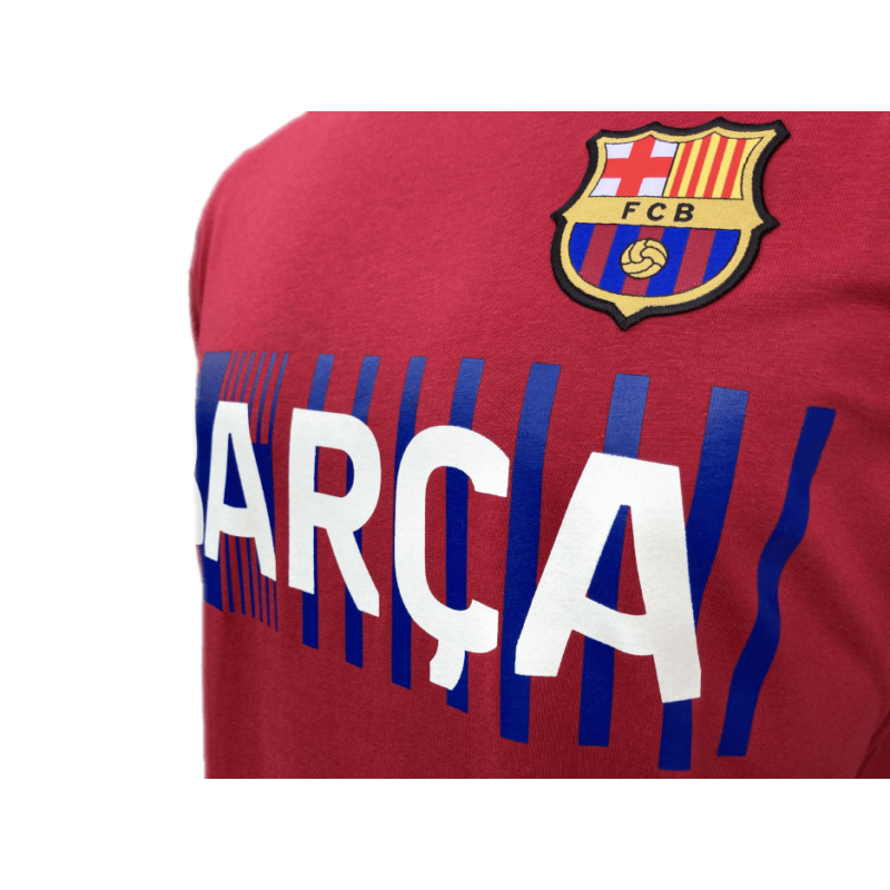 A Barça címeres, 2021-22-es pólója, Gránátvörös - XL